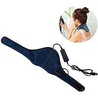 Almohadilla eléctrica para el cuello, portátil, bajo voltaje, infrarrojo lejano, tratamiento térmico Fisioterapia.