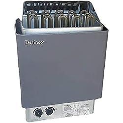 Desineo Poêle à Sauna 3 KW avec Commandes intégrées