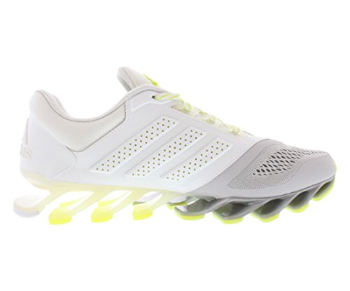 Adidas Springblade dur 2 W Chaussures de course Taille 7 White/Metallic Silver/Grey