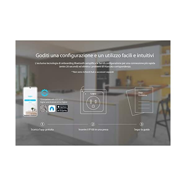 TP-Link-Presa-Wi-Fi-Tapo-P100-Smart-Plug-Compatibile-con-Alexa-e-Google-Home-Controllo-dei-Dispositivi-Ovunque-Nessun-hub-esterno-necessario-presa-schuko