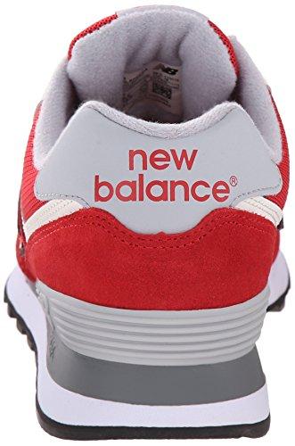 New Balance Herren Ml_wl574v1 Low-Top Pink (Pink/White)