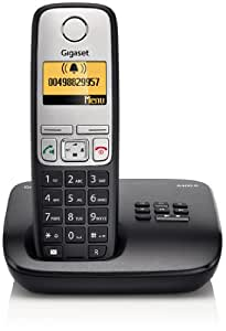 Gigaset A400A Cordless DECT Telephone with Answer Machine (Single) - Black