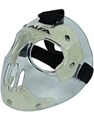 Alfa Hockey Goal Keeper protégé et réglable clair casque - Taille disponible