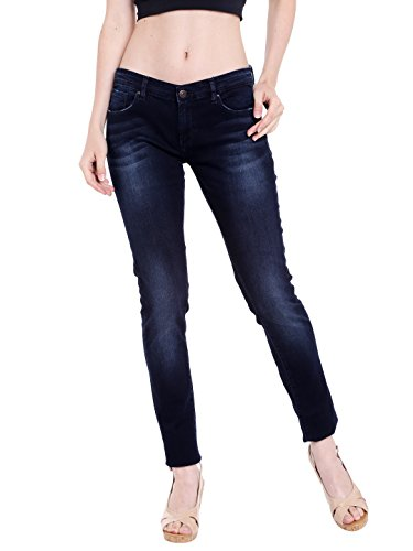 Spykar Womens Blue Skinny Fit Low Rise Jeans (Selena Fit) (30)  available at amazon for Rs.1049