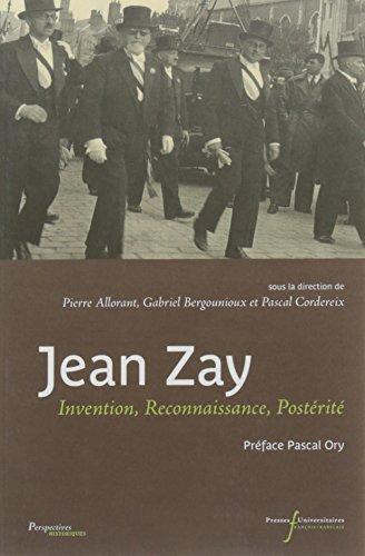 Jean zay, Invention, Reconnaissance, Postérité