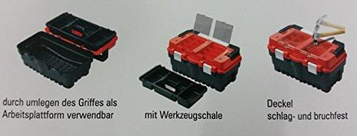 Werkzeugkiste Werkzeugkoffer bestückt für Haushalt und Hobby - 2