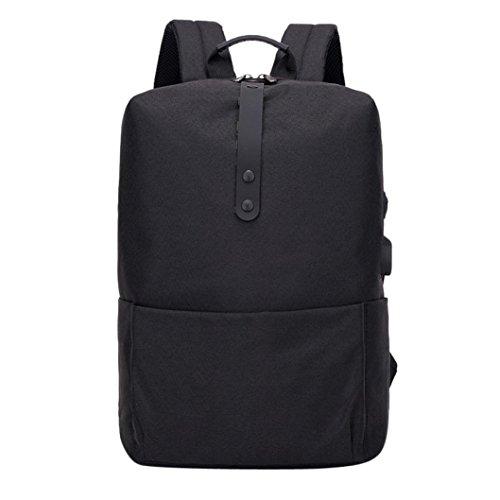 3cc20016288a7 Ansenesna Rucksäcke Herren Grau Diebstahlschutz Laptop Groß Schule Tasche  mit USB Für Outdoor.