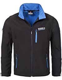 Geographical Norway TOWER MEN Anorak Chaqueta Negro para Hombre Dry Tech 4000