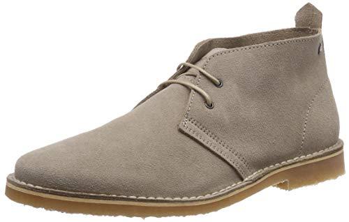 Jack & jones jfwgobi suede sand, stivali desert boots uomo, beige, 44 eu