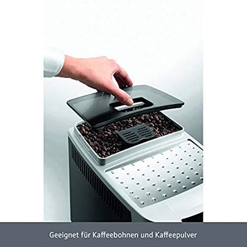 De'Longhi Magnifica S ECAM 22.110.B – Kaffeevollautomat mit Milchaufschäumdüse, Direktwahltasten & Drehregler, 2-Tassen-Funktion, großer 1,8 l Wassertank, 35,1 x 23,8 x 43 cm, schwarz