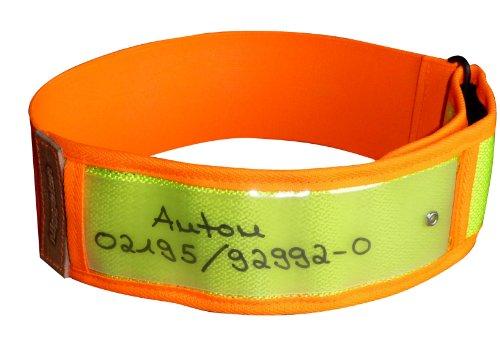 Niggeloh Hundehalsband Warnhalsung, gelb, XS, 101100027 (Jagd Jagdhunde)