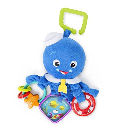 Baby Einstein, Stoffspielzeug für den Kinderwagen, Octopus