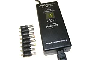 Alimentation Chargeur Adaptateur secteur ordinateur pc portable 90W Digital Universel USB pour ACER - ASUS - COMPAQ - DELL - FUJITSU - GERICOM - HP - LENOVO - NEC - PACKARD BELL - SAMSUNG - SONY - TOS