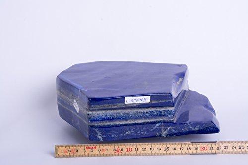 Lapislazuli,Lapis,EX, geschliffen, poliert, Edelsteine, Mineralien, L000169