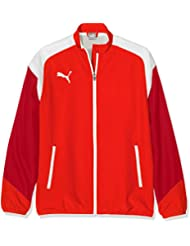Puma Esito 4 Woven Jacket Chaqueta, infantil, Esito 4 Woven Jacket, puma red-puma white-Chili pepper, 152