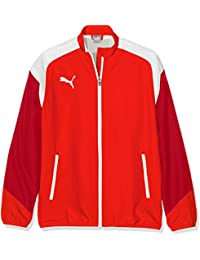 Puma Esito 4Woven Jacket Chaqueta, infantil, Esito 4 Woven Jacket, puma red-puma white-Chili pepper, 152