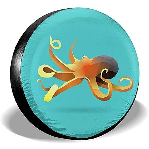 WCHAO Copertura Pneumatici Octopus Potabile Poliestere Universale Ruota di scorta Copertura Pneumatici Coperture Ruote per Je-EP RV SUV Rimorchio Autocarro Cam