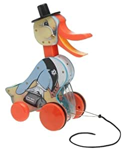 Fisher Price   - 950-6 - Pousse Et Traîne -  Le Canard Dr Duck