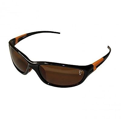 Fox XT4 Sunglasses Polbrille - schwarzer Rahmen braune Gläser - CSN031