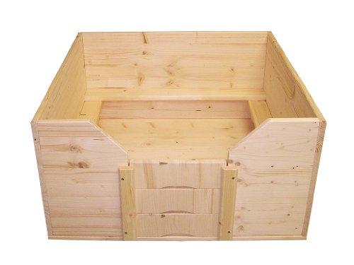 Artikelbild: Easy-Hopper Wurfbox / Welpenbox / Schlafplatz Standard 80x80cm mit Welpenschutz