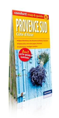 PROVENCE SUD-COTE AZUR (MAP&GUIDE XL) CARTE LAMINEE