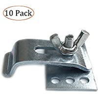 Sink Clips Undermount Kitchen Sink Clips, Epoxy Undermount Sink Brackets Supports for Bathroom Kitchen 10 Pack Kit