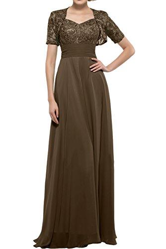 Missdressy -  Vestito  - linea ad a - Donna Chokolade