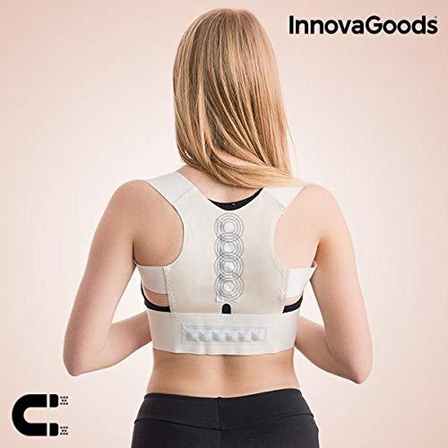 InnovaGoods IG116509 - Corrector de espalda magnético Armor