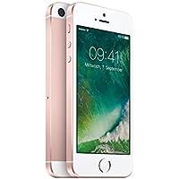 Apple iPhone SE Smartphone débloqué 4G (Ecran : 4 pouces - 64 Go - Simple Nano SIM - iOS) Or Rose (Import Allemagne)