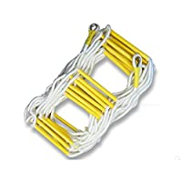 WYX Outdoor Rope Ladder Escape Rope Ladder Ladder High-rise Safety Life-saving Nylon Rope Ladder, Environmentally Friendly Material Resin Ladder