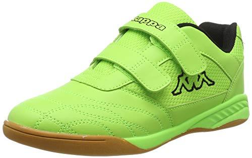 Kappa Mädchen Kickoff OC Kids Sneaker, Grün (Green/Black 3011), 36 EU