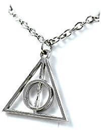 CargoMix réplica de collar Xenophilius Lovegood Harry Potter y las Reliquias de la muerte, cadena