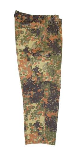 Original Bundeswehr Feldhose 5 Farben Flecktarn (BW 2 Konfektionsgrösse 46 160-170 cm Körpergrösse 85 cm Bundumfang)