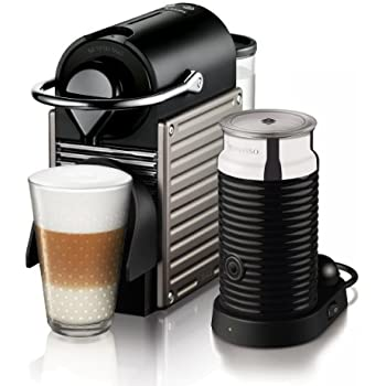 krups xn 3015 nespresso pixie titanium electrique avec mulsionneur de lait aeroccino3 amazon. Black Bedroom Furniture Sets. Home Design Ideas