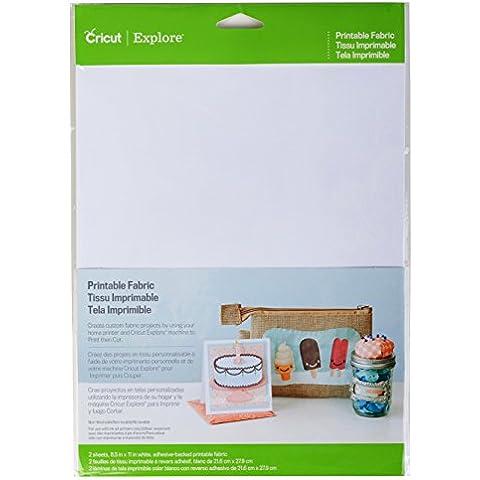 Provo Craft Novelty Inc.-tessuto multiuso, colore: bianco, 21,59 x 27,94 (8,5-Inch) x 11 cm, confezione da 2 fogli