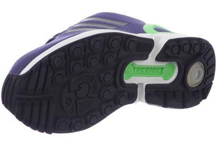 adidas ZX Flux Sneakers a Collo Basso, Donna blau / mint / weiß