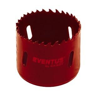 Exact 06051 Eventus – Hoja circular bimetal para sierras de corona (105 mm de diámetro)