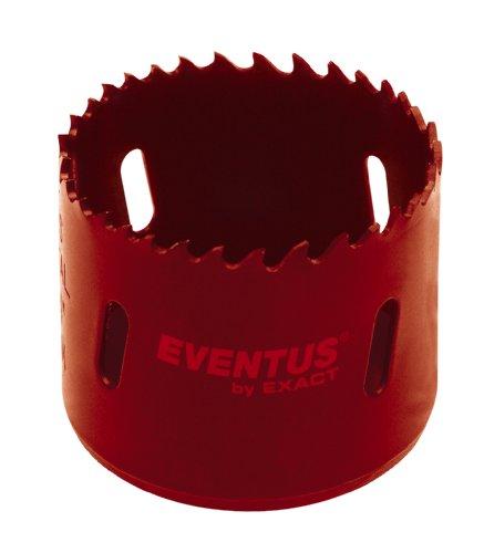 Eventus 06020 1 - Punta con fresa a tazza in acciaio ad alta resistenza Bi-Metal con dentatura a passo variabile, 43 mm