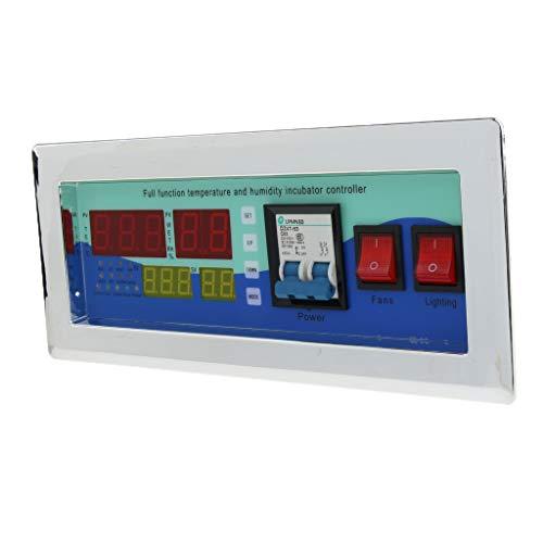 B Blesiya Digital Temperaturregler Feuchtigkeit Controller für Inkubator