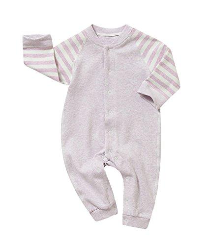 Kleinkind-S?uglings-langes H¨¹lsen-Bodysuit-Spielanzug-Baby-Jungen-Baumwolloverall-Baby-M?dchen-Pyjama-Ausstattung (Neugeborenen Gerber Onesies)