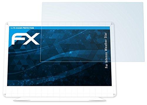 Intenso Weather Star Schutzfolie - atFoliX FX-Clear kristallklare Folie Displayschutzfolie