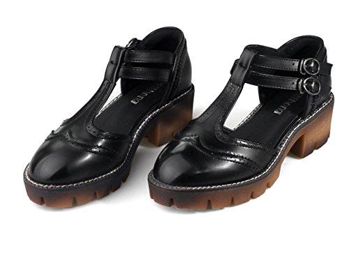 YCMDM Chaussures Chaussures Chaussures Black
