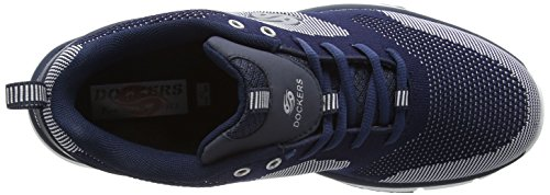 Dockers by Gerli 37eq008-700 Herren Low-Top Blau (navy/weiss 665)