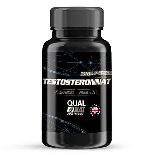 Qualnat, Testosterona Suplemento Deportivo, Aumenta la Masa...