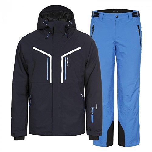 Icepeak Herren Skianzug, Farbe:Blau, Bitte Größe wählen:48