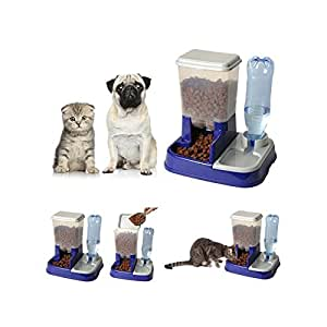 probache distributeur eau et croquettes automatique pour chien et chat animalerie. Black Bedroom Furniture Sets. Home Design Ideas