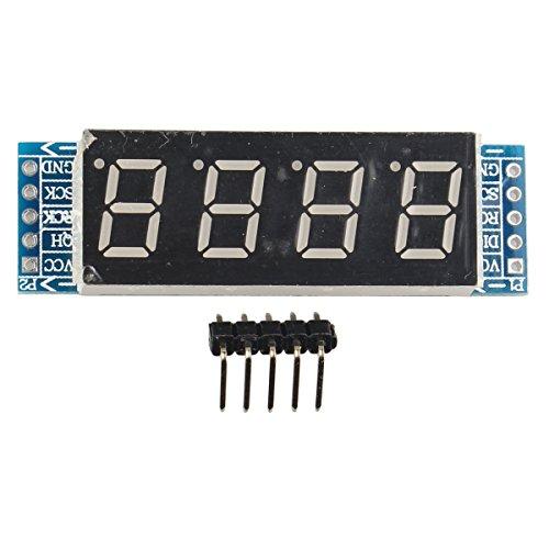 Haljia a  cifre, display a tubo digitale modulo di controllo 74HC595chip gratuito per Arduino Raspberry Pi braccio 8051MCU
