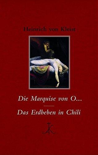 Die Marquise von O... / Das Erdbeben in Chili (Erlesenes Lesen) - Erdbeben Chili Das In