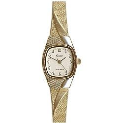 Gardé Uhren aus Ruhla Damenuhr Milanaiseband 7546-3
