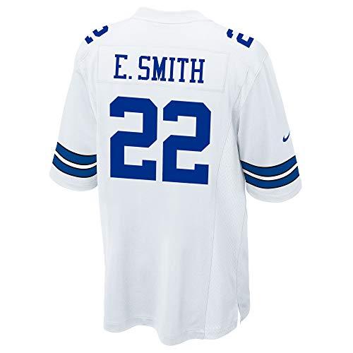 NFL Dallas Cowboys Herren Emmitt Smith Nike Game-Jersey, Weiß, Größe XL
